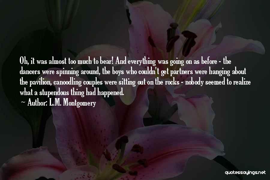 L.M. Montgomery Quotes 878518