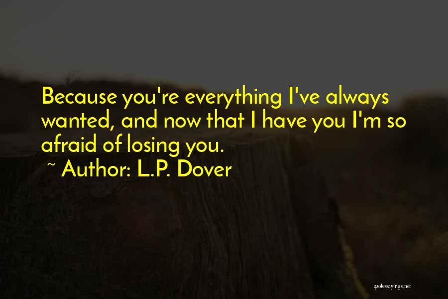 L.P. Dover Quotes 483038