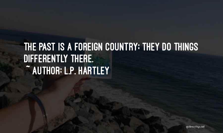 L.P. Hartley Quotes 1209095