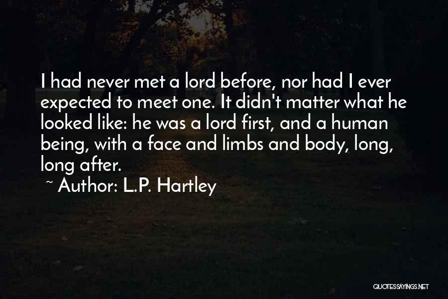 L.P. Hartley Quotes 162601
