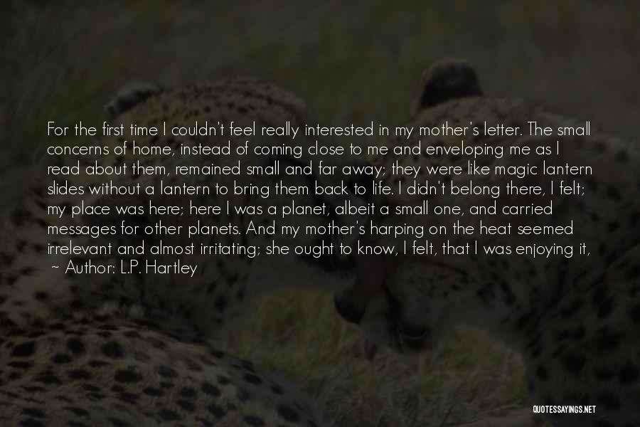 L.P. Hartley Quotes 1872439