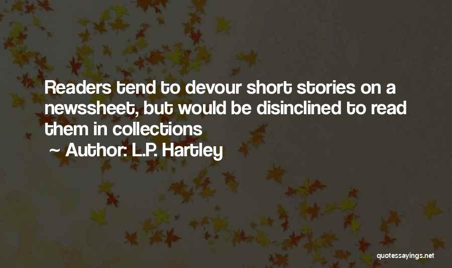 L.P. Hartley Quotes 521151