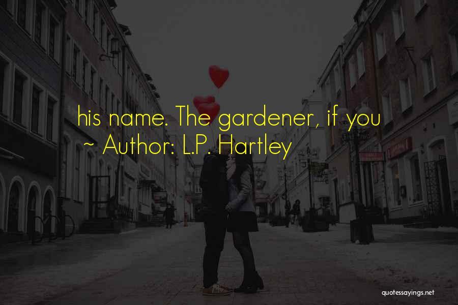 L.P. Hartley Quotes 552444