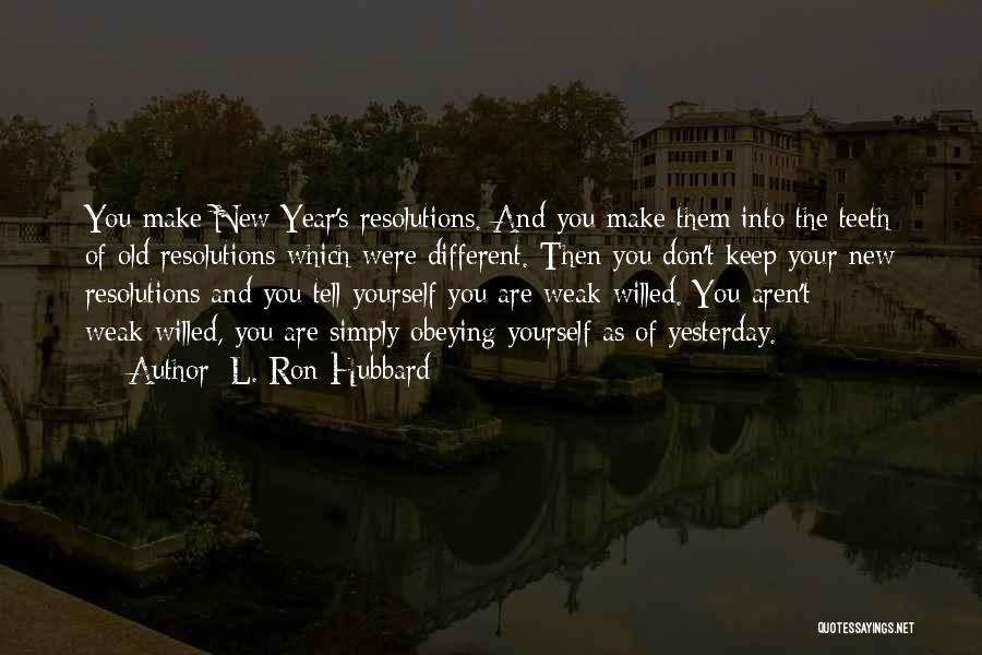 L. Ron Hubbard Quotes 1404348