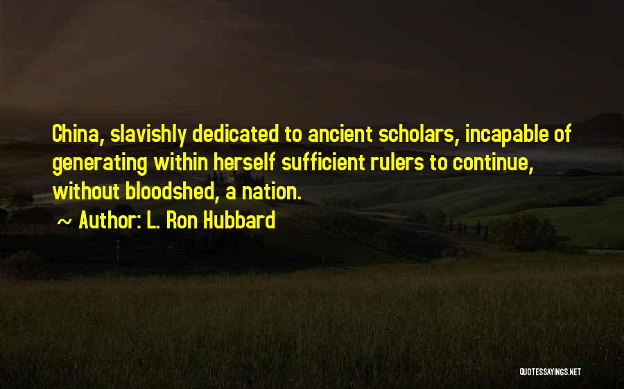 L. Ron Hubbard Quotes 383137