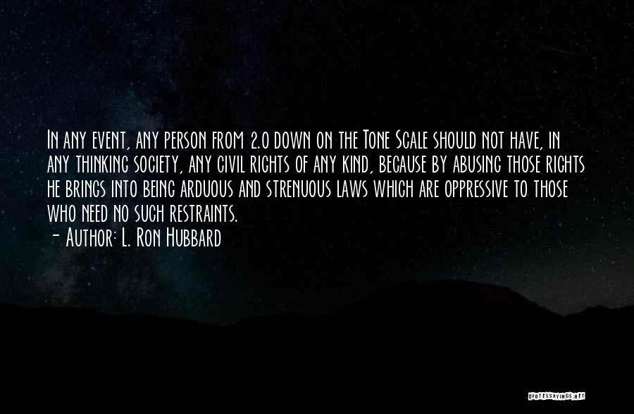 L. Ron Hubbard Quotes 552024