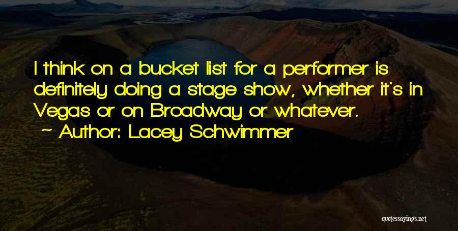 Lacey Schwimmer Quotes 1552804