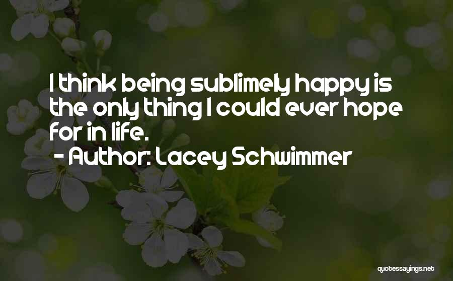 Lacey Schwimmer Quotes 230909