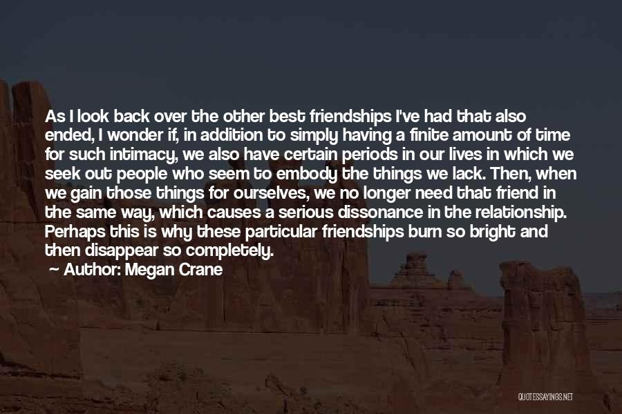 Lack Of Time Relationship Quotes By Megan Crane