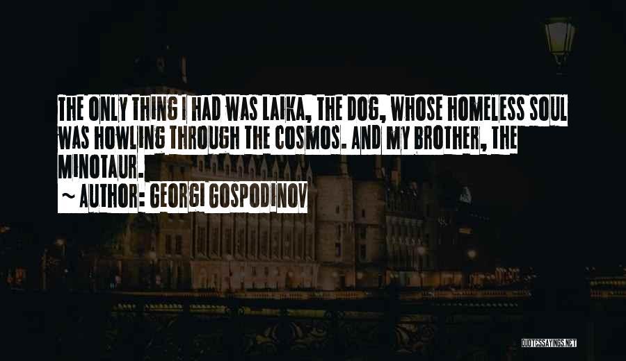 Laika Space Dog Quotes By Georgi Gospodinov