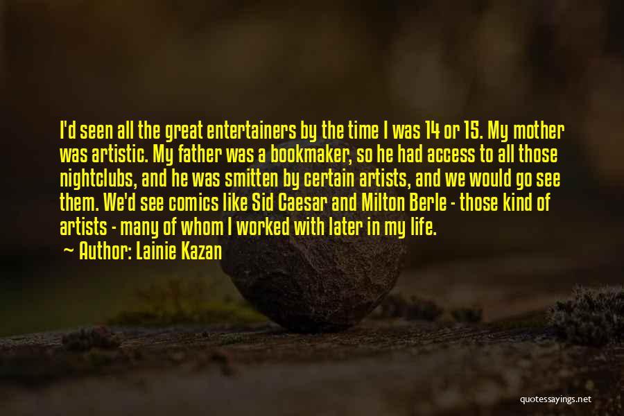 Lainie Kazan Quotes 991591