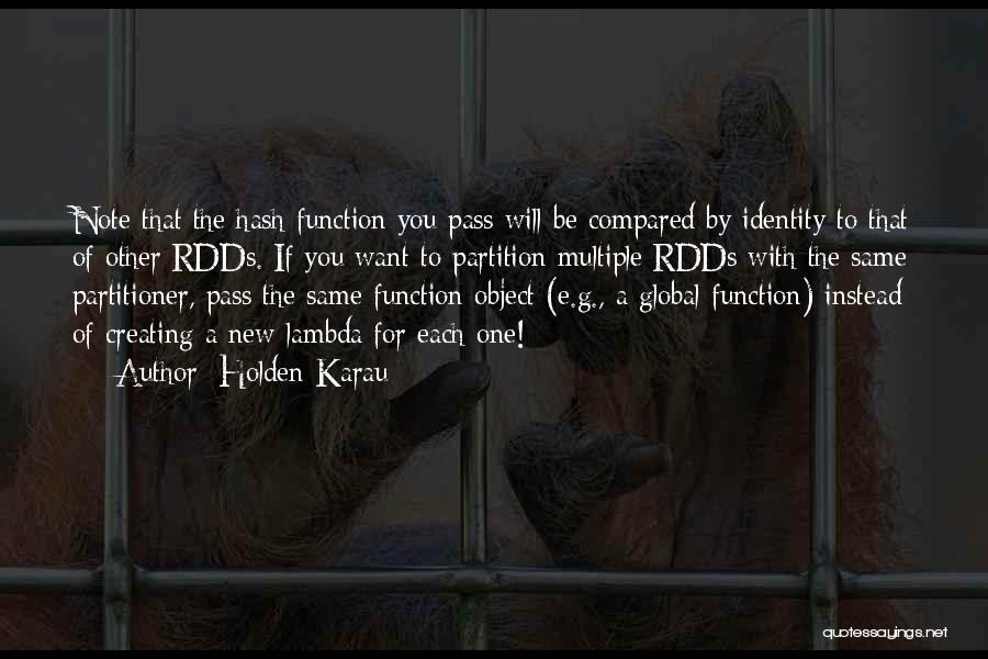 Lambda Quotes By Holden Karau