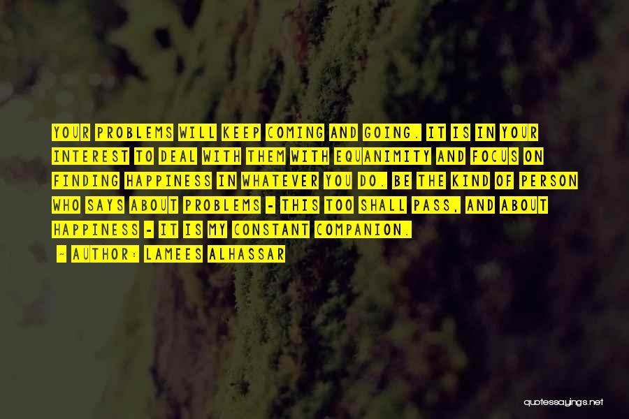 Lamees Alhassar Quotes 1198129