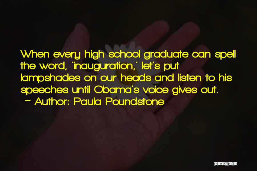 Lampshades Quotes By Paula Poundstone