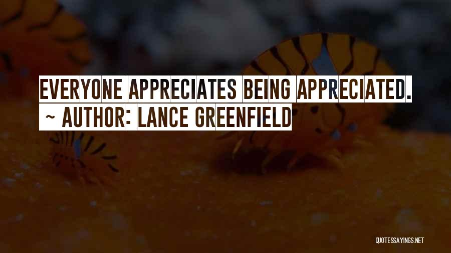 Lance Greenfield Quotes 99478