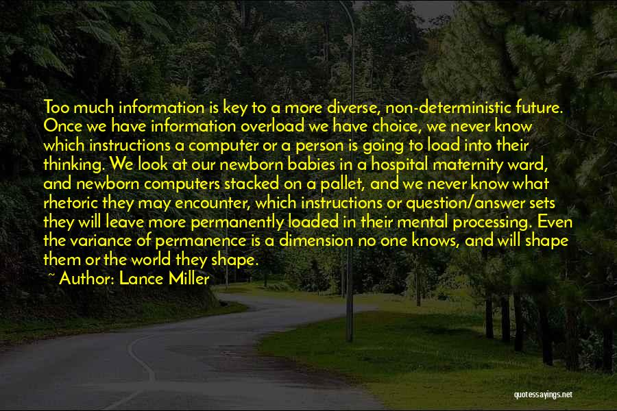Lance Miller Quotes 838838