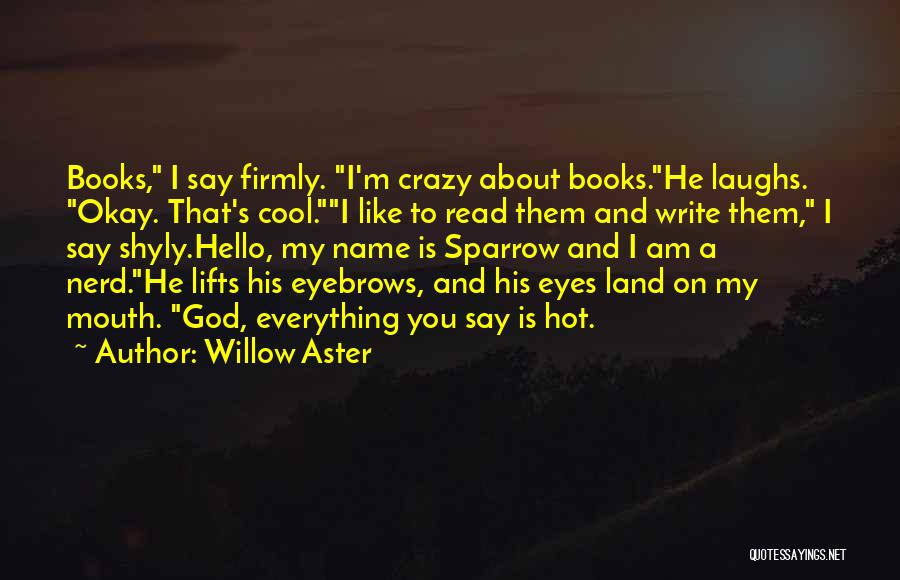 Land Of Laughs Quotes By Willow Aster