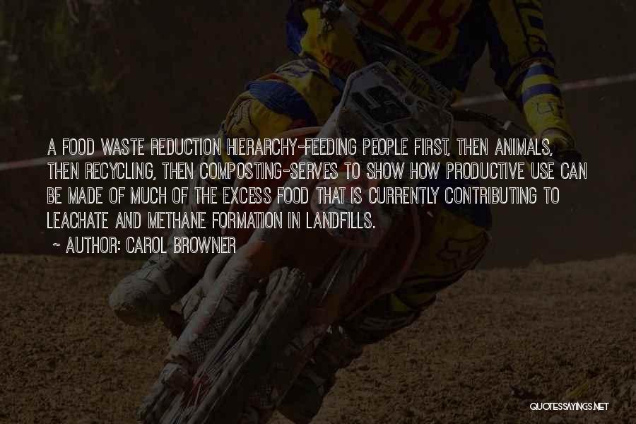 Landfills Quotes By Carol Browner