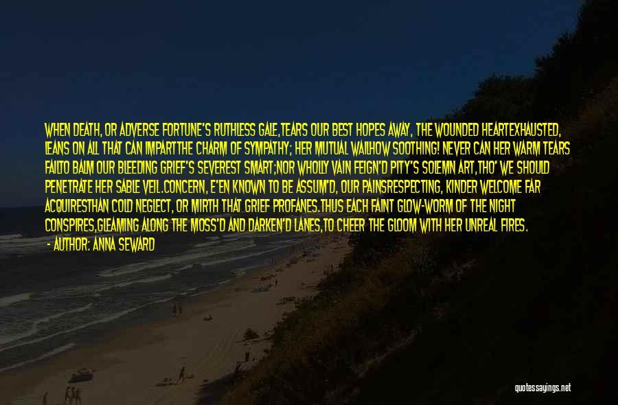 Lanes Quotes By Anna Seward