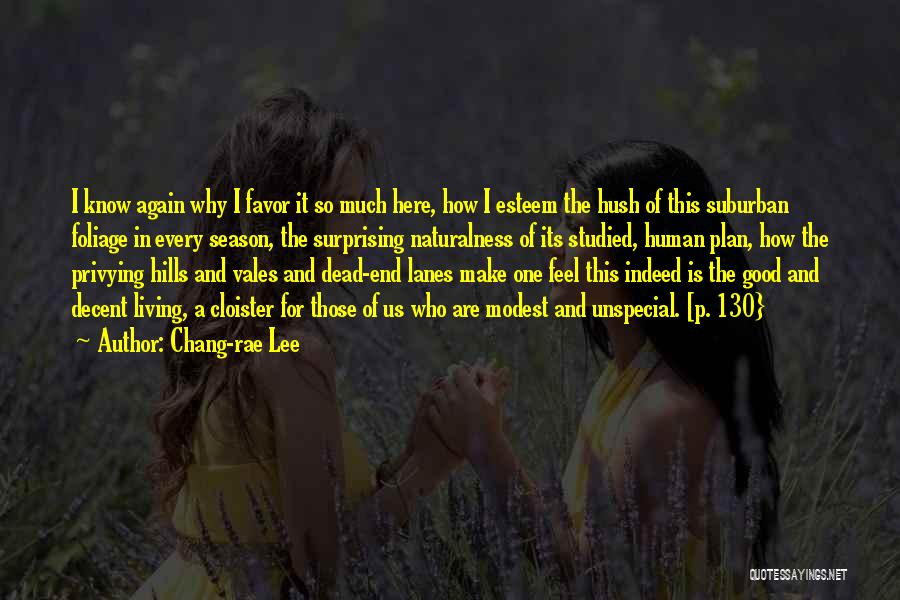 Lanes Quotes By Chang-rae Lee