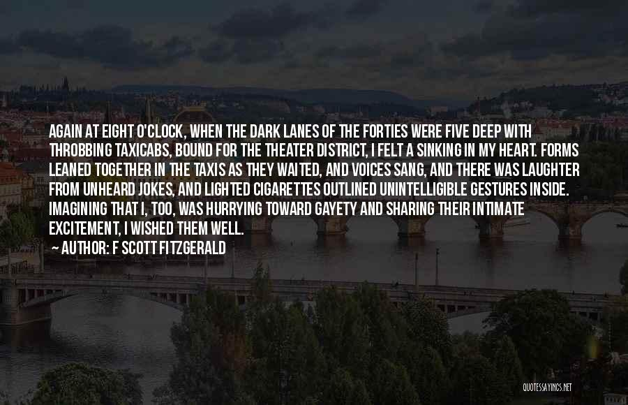 Lanes Quotes By F Scott Fitzgerald