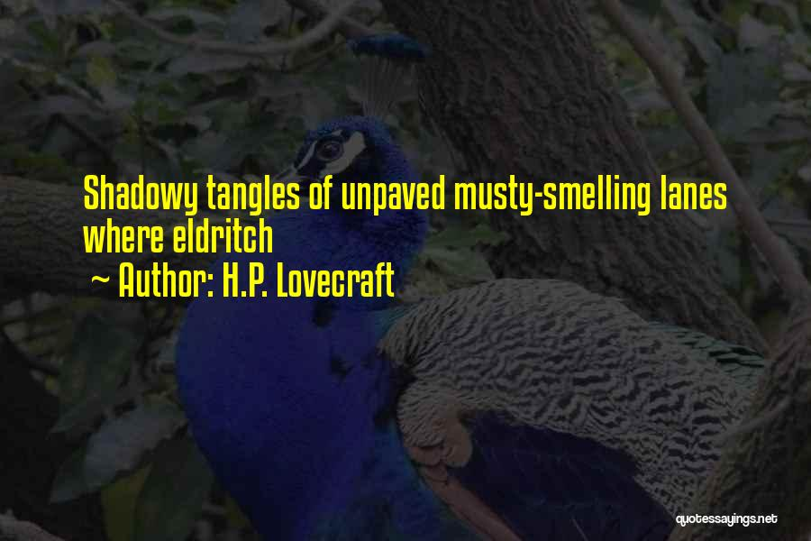 Lanes Quotes By H.P. Lovecraft