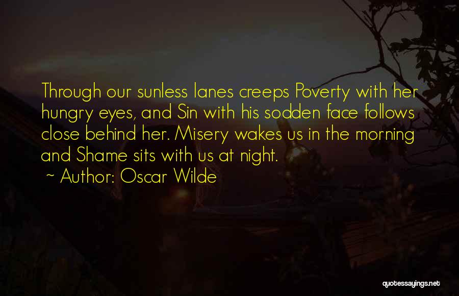 Lanes Quotes By Oscar Wilde