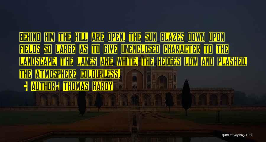 Lanes Quotes By Thomas Hardy