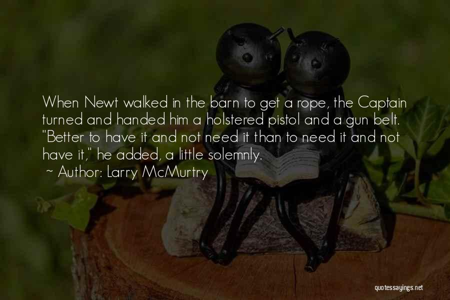 Larry McMurtry Quotes 1079334
