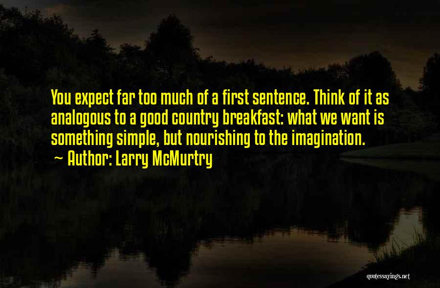 Larry McMurtry Quotes 1931681