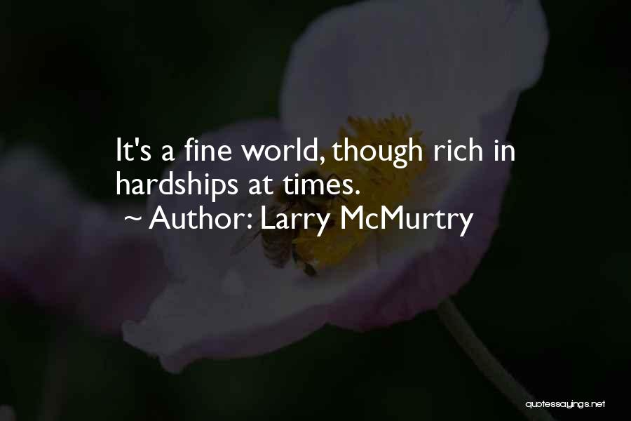 Larry McMurtry Quotes 341406