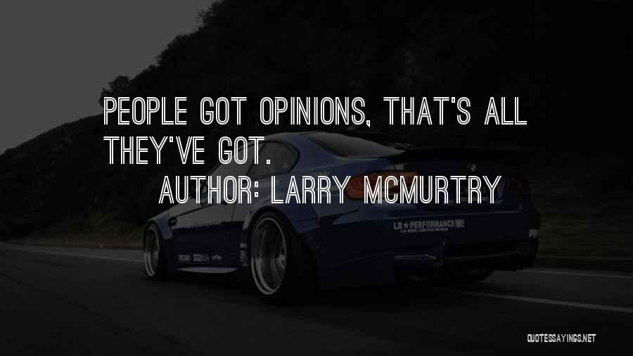 Larry McMurtry Quotes 408090