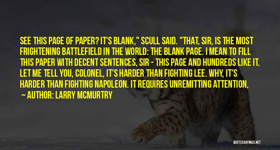 Larry McMurtry Quotes 417487