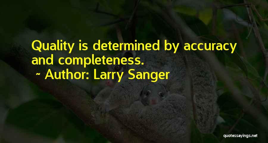 Larry Sanger Quotes 1831423