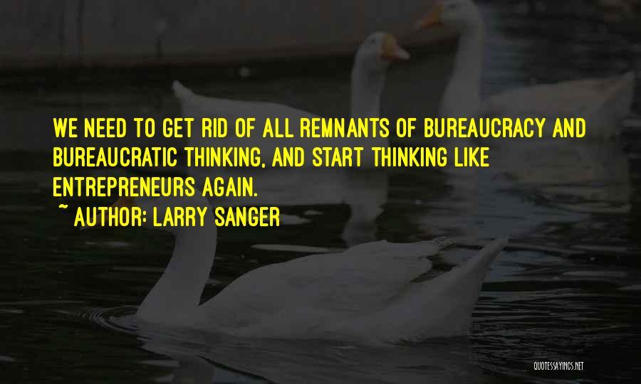 Larry Sanger Quotes 841997