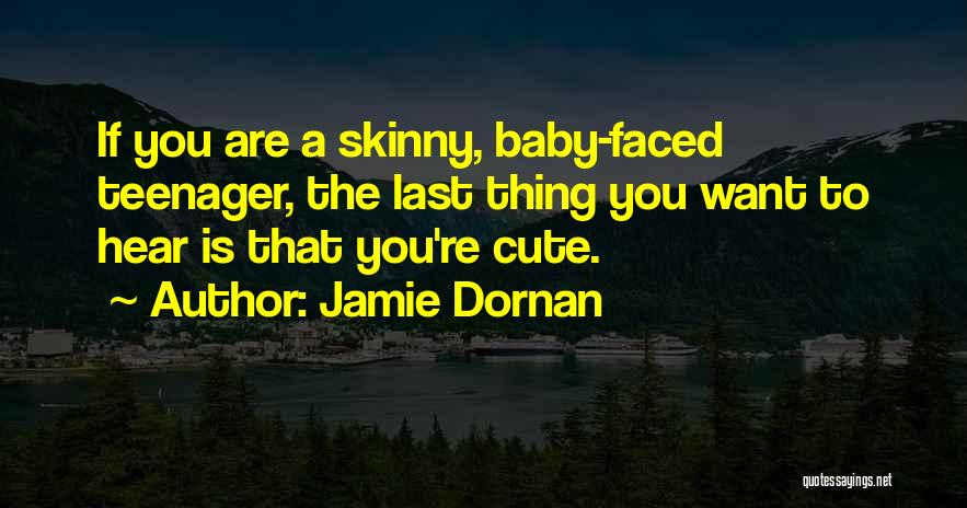 Last Baby Quotes By Jamie Dornan