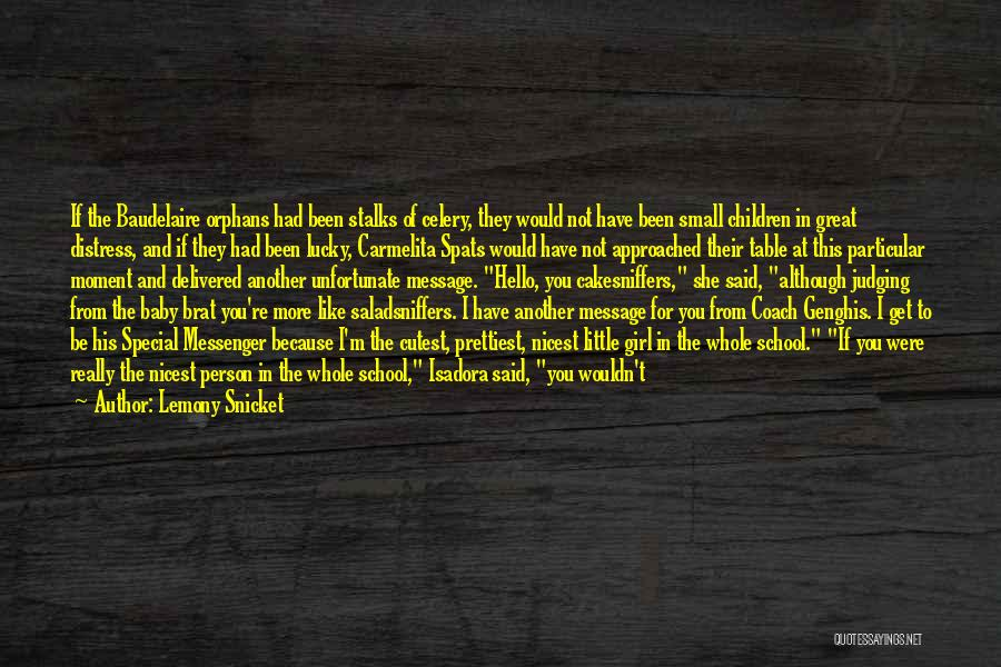 Last Baby Quotes By Lemony Snicket