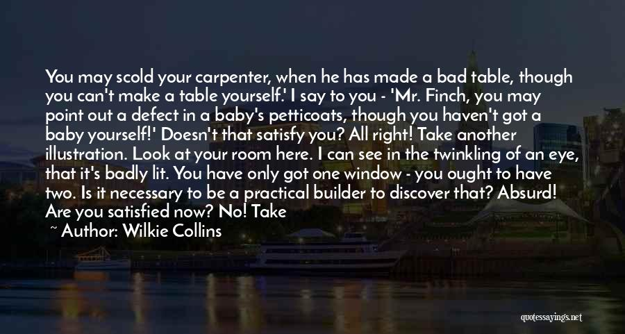 Last Baby Quotes By Wilkie Collins
