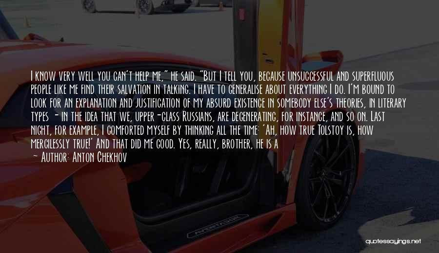Last Class Quotes By Anton Chekhov