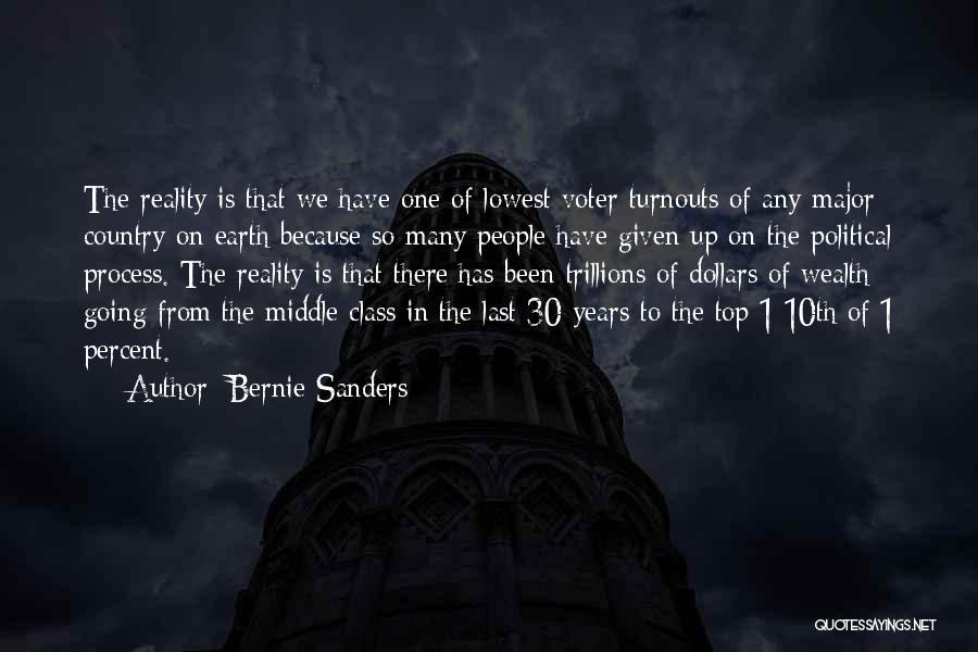 Last Class Quotes By Bernie Sanders