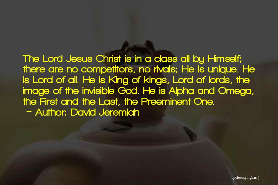 Last Class Quotes By David Jeremiah