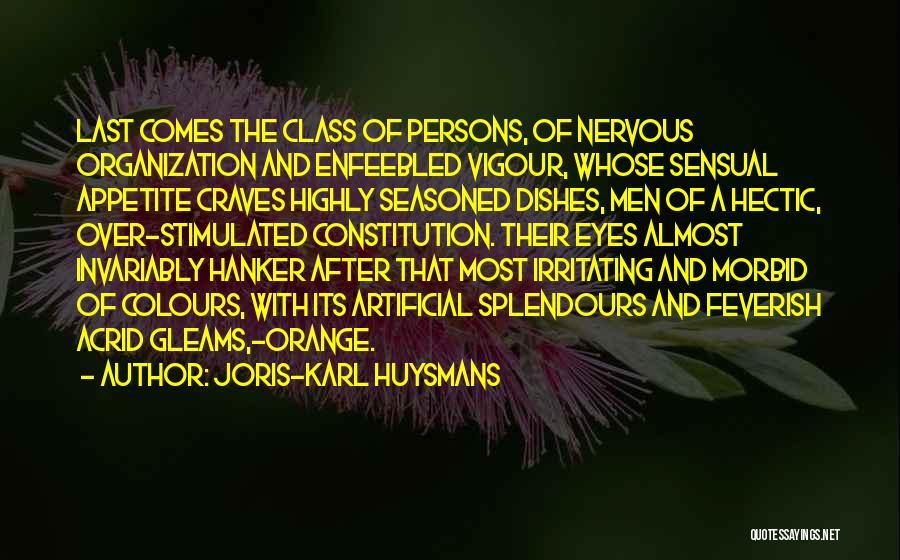 Last Class Quotes By Joris-Karl Huysmans