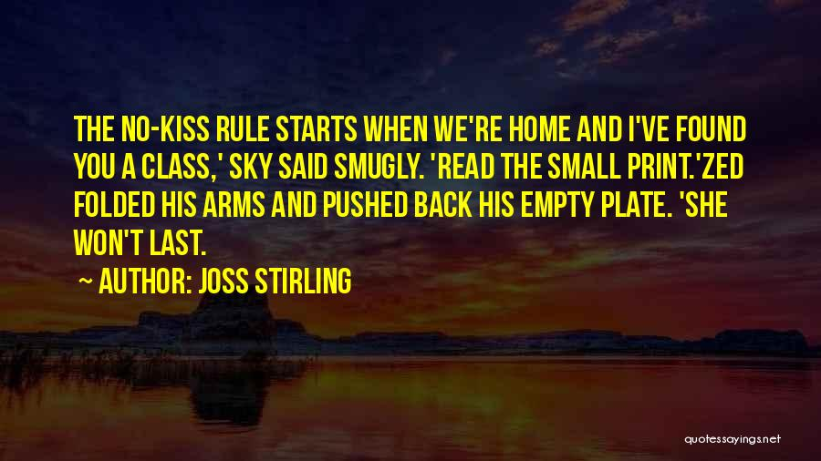 Last Class Quotes By Joss Stirling