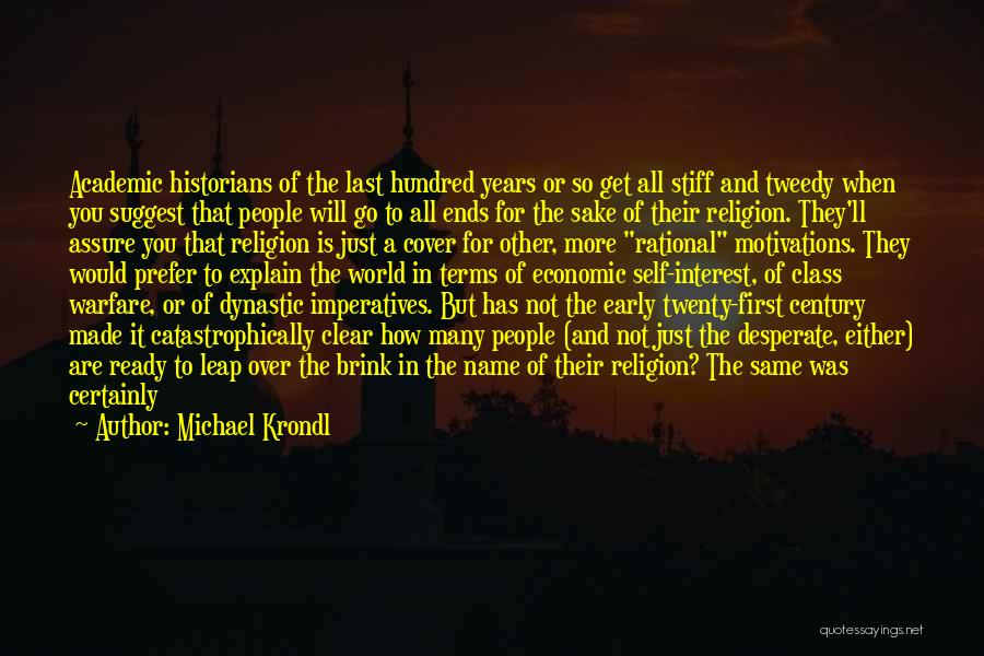 Last Class Quotes By Michael Krondl