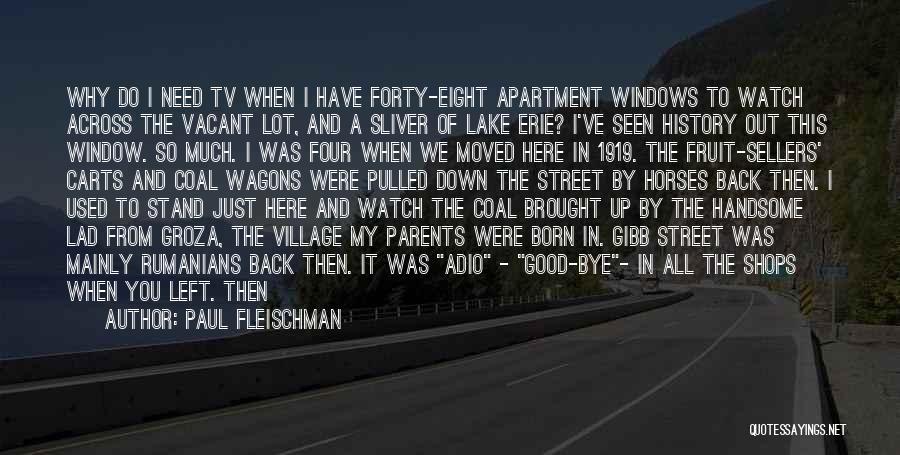 Last Class Quotes By Paul Fleischman