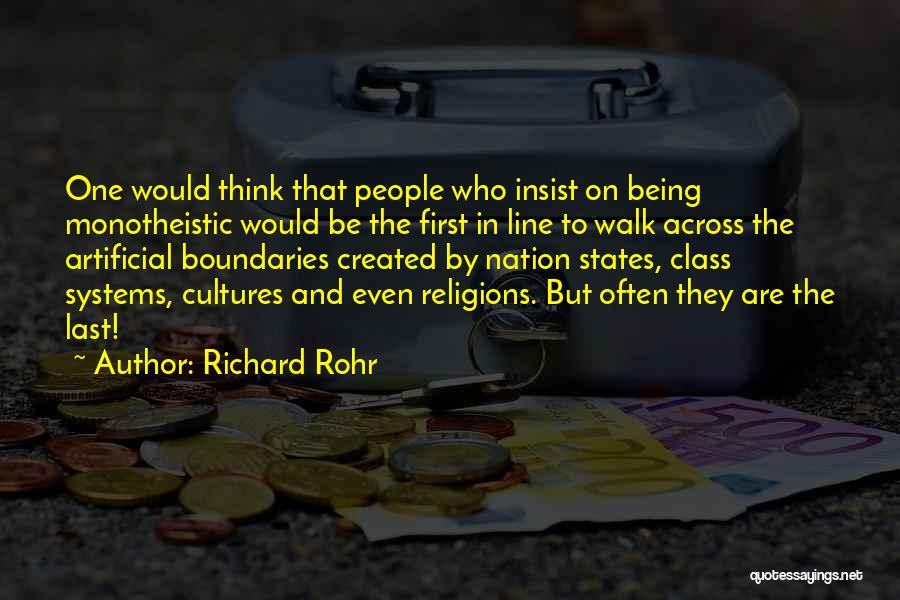 Last Class Quotes By Richard Rohr