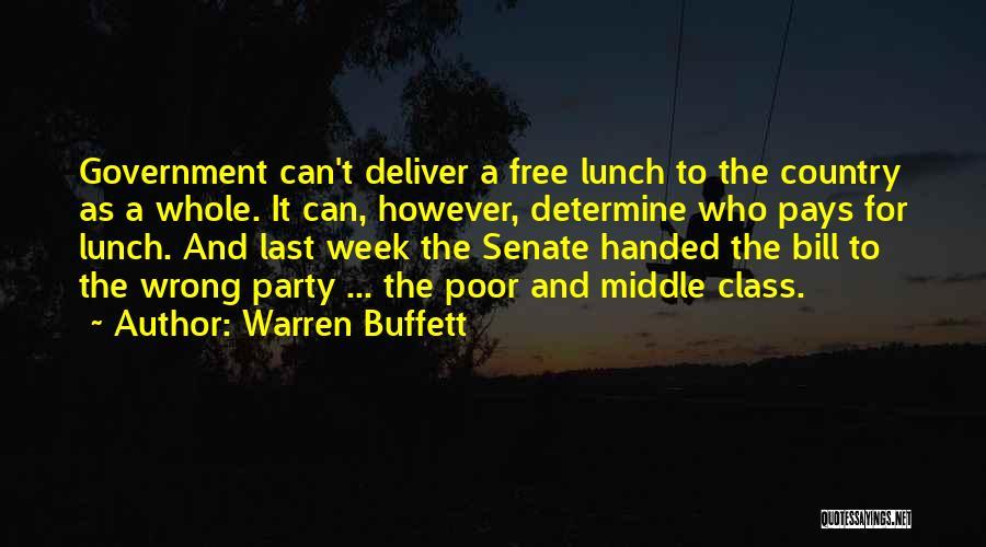 Last Class Quotes By Warren Buffett