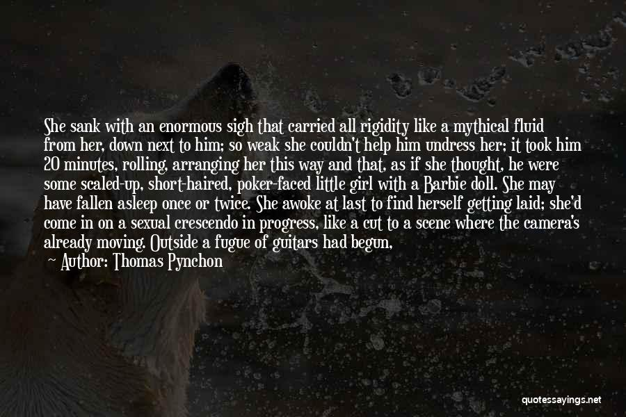 Last Minutes Quotes By Thomas Pynchon