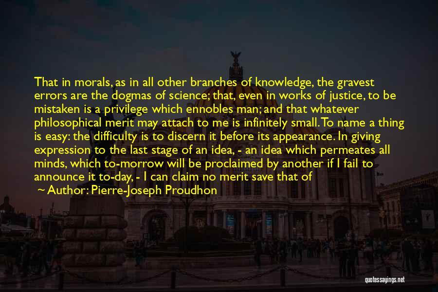 Last Priority Quotes By Pierre-Joseph Proudhon