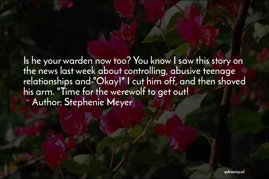 Last Werewolf Quotes By Stephenie Meyer